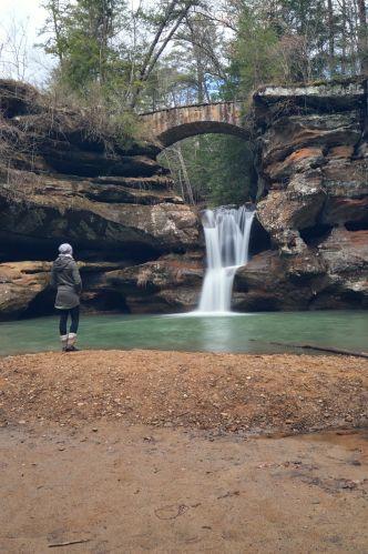 Upper Falls, Old Man's Cave