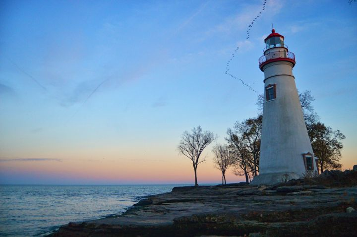 Marblehead Lighthouse - Sunset5