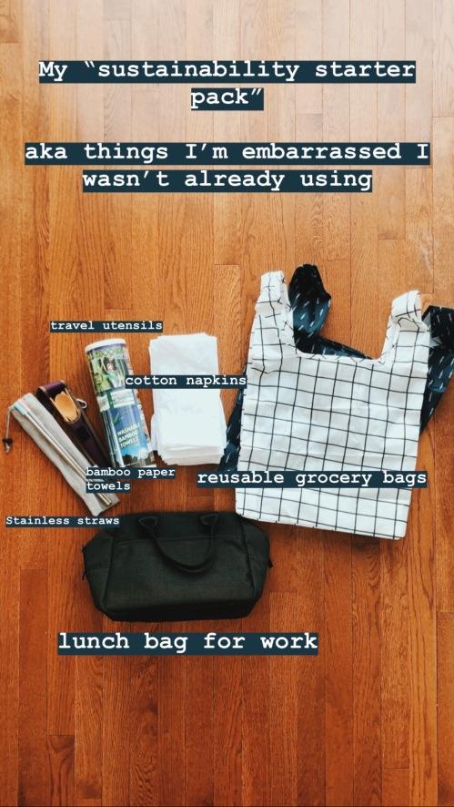 sustainability starter kit